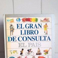 Enciclopedias de segunda mano: GRAN LIBRO DE CONSULTA EL PAIS – EL PAIS/ALTEA. Lote 87662068