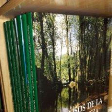 Enciclopedias de segunda mano: PARAISOS DE LA NATURALEZA - 7 TOMOS - EDICIONES RUEDA. Lote 89100704