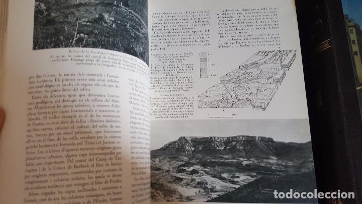 Enciclopedias de segunda mano: GEOGRAFIA DE CATALUNYA.TOMOS I Y II. BELLAMENTE ILUSTRADA.1958.EN CATALÀ AEDOS. - Foto 3 - 89514872