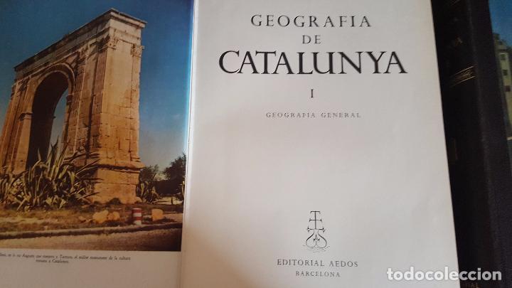 Enciclopedias de segunda mano: GEOGRAFIA DE CATALUNYA.TOMOS I Y II. BELLAMENTE ILUSTRADA.1958.EN CATALÀ AEDOS. - Foto 4 - 89514872