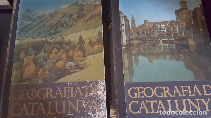 Enciclopedias de segunda mano: GEOGRAFIA DE CATALUNYA.TOMOS I Y II. BELLAMENTE ILUSTRADA.1958.EN CATALÀ AEDOS. - Foto 5 - 89514872