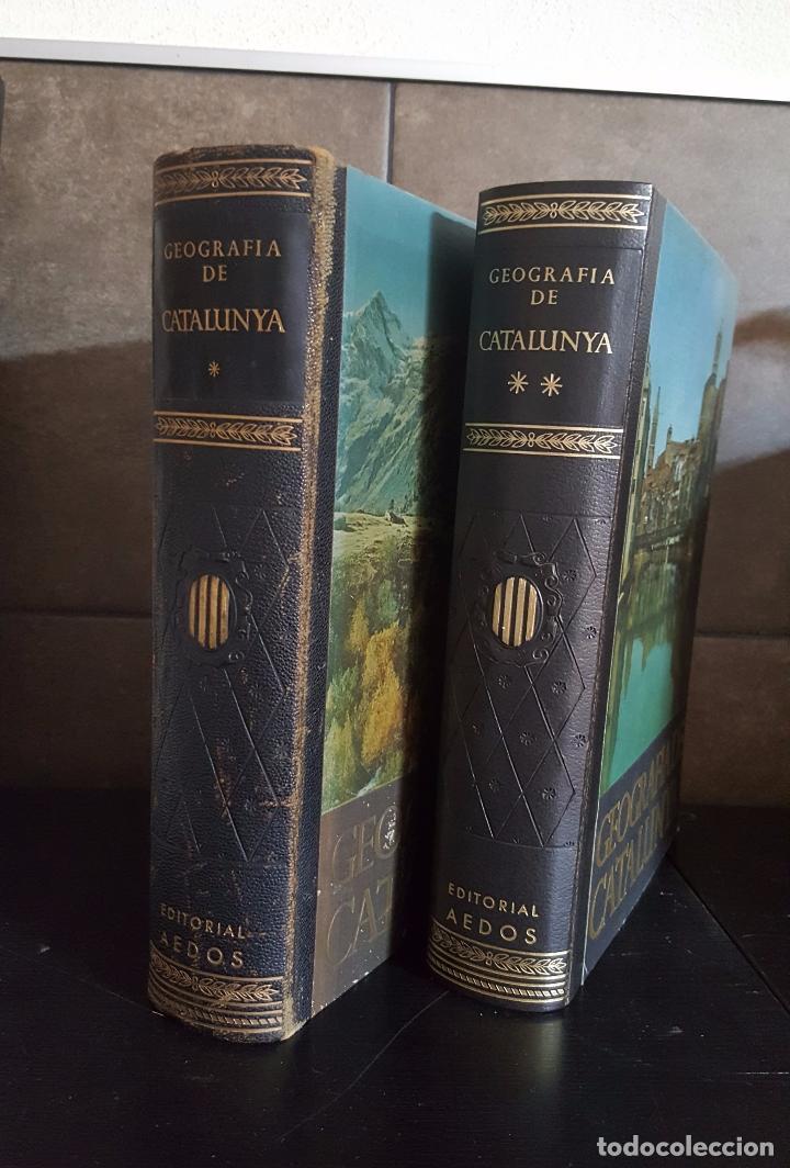 Enciclopedias de segunda mano: GEOGRAFIA DE CATALUNYA.TOMOS I Y II. BELLAMENTE ILUSTRADA.1958.EN CATALÀ AEDOS. - Foto 6 - 89514872
