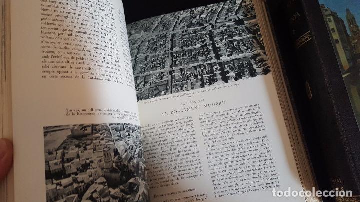 Enciclopedias de segunda mano: GEOGRAFIA DE CATALUNYA.TOMOS I Y II. BELLAMENTE ILUSTRADA.1958.EN CATALÀ AEDOS. - Foto 7 - 89514872