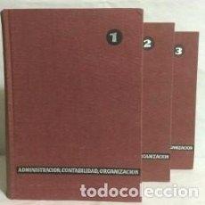 Enciclopedias de segunda mano: ENCICLOPEDIA DE ADMINISTRACIÓN, CONTABILIDAD Y ORGANIZACIÓN DE EMPRESAS - JESUS DE ARAGON SOLDADO . Lote 89599288