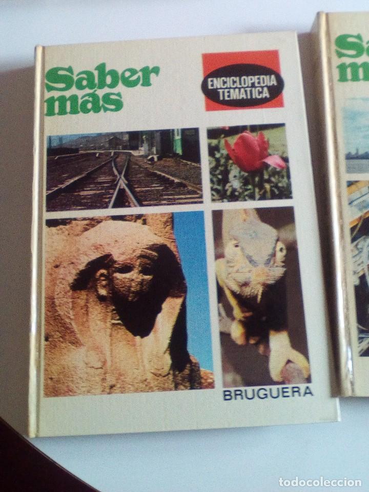 SABER MÁS, ENCICLOPEDIA TEMÁTICA DE LOS AÑOS 70, 6 TOMOS, COMPLETA (Libros de Segunda Mano - Enciclopedias)