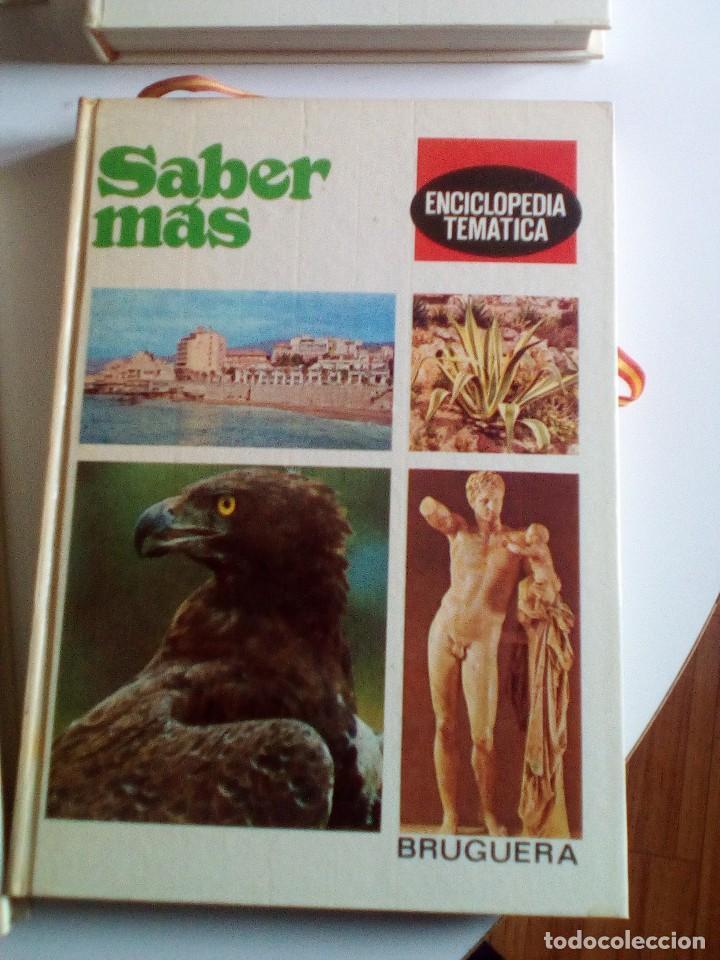 Enciclopedias de segunda mano: Saber Más, Enciclopedia Temática de los años 70, 6 tomos, COMPLETA - Foto 3 - 89607760