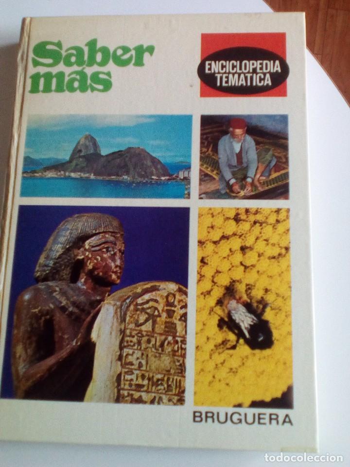 Enciclopedias de segunda mano: Saber Más, Enciclopedia Temática de los años 70, 6 tomos, COMPLETA - Foto 4 - 89607760