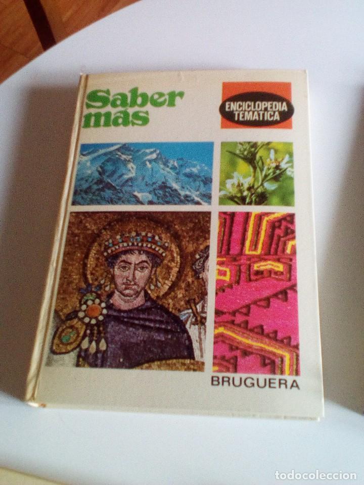 Enciclopedias de segunda mano: Saber Más, Enciclopedia Temática de los años 70, 6 tomos, COMPLETA - Foto 5 - 89607760
