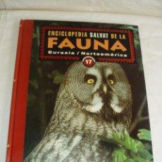 Enciclopedias de segunda mano: ENCICLOPEDIA SALVAT DE LA FAUNA. Lote 89777184