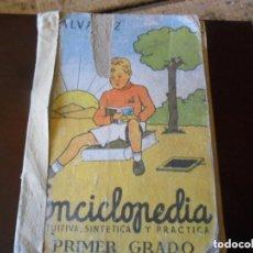 Enciclopedias de segunda mano: ENCICLOPEDIA ÁLVAREZ - PRIMER GRADO - MIÑÓN 1961 VALLADOLID. Lote 89969124
