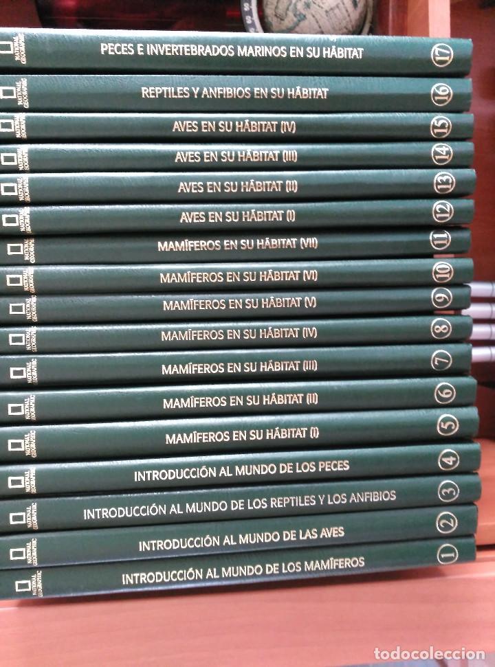 NATIONAL GEOGRAPHIC - EL MARAVILLOSO MUNDO DE LOS ANIMALES - 17 TOMOS (Libros de Segunda Mano - Enciclopedias)