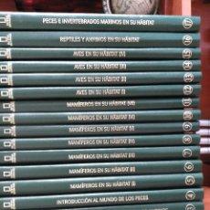 Enciclopedias de segunda mano: NATIONAL GEOGRAPHIC - EL MARAVILLOSO MUNDO DE LOS ANIMALES - 17 TOMOS . Lote 90113628