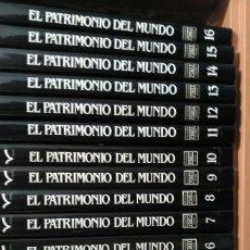 Enciclopedias de segunda mano: EL PATRIMONIO DEL MUNDO - IMPRESIONANTE ENCICLOPEDIA DE 16 TOMOS - PLAZA & JANES . Lote 90113896
