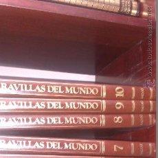 Enciclopedias de segunda mano: MARAVILLAS DEL MUNDO SALVAT - 10 TOMOS . Lote 90114040
