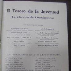 Enciclopedias de segunda mano - EL TESORO DE LA JUVENTUD. ENCICLOPEDIA DE CONOCIMIENTOS. TOMO XII. EDICIONES LEO. ILUSTRADA - 90515920