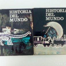 Enciclopedias de segunda mano: AÑO 1967. 2 LIBROS HISTORIA DEL MUNDO.. Lote 90567165