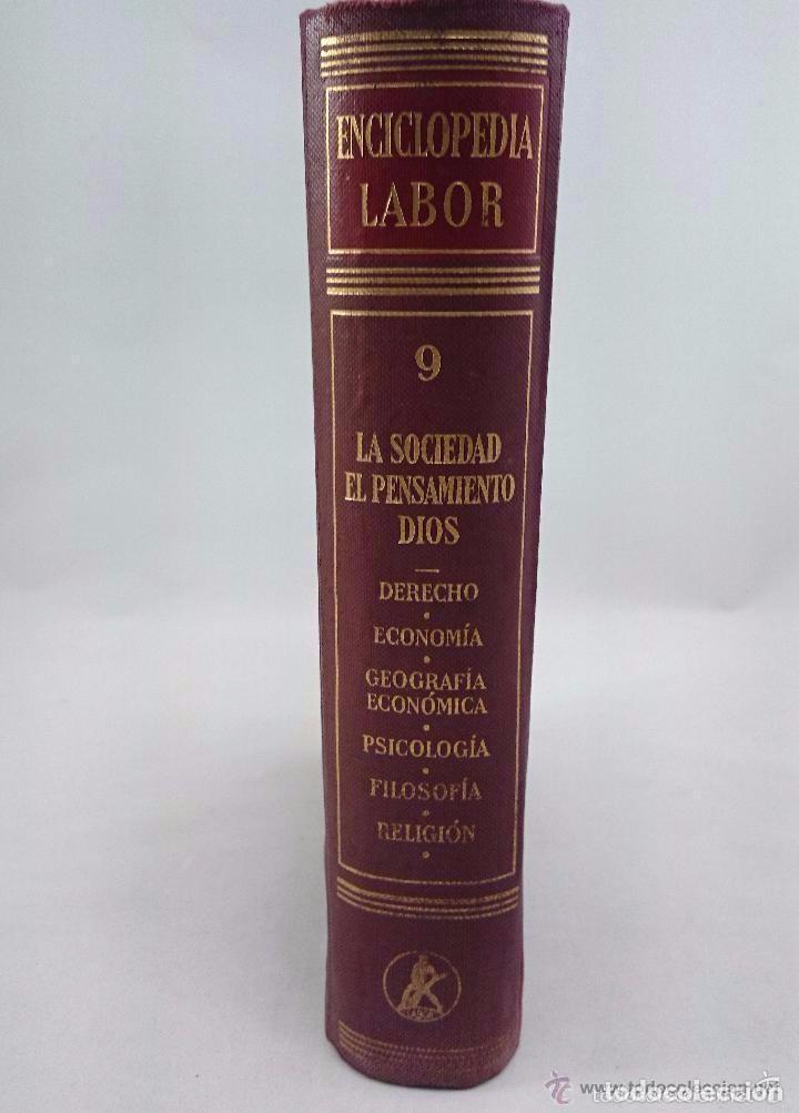 Enciclopedias de segunda mano: ENCICLOPEDIA LABOR. TOMO 9 LA SOCIEDAD. EL PENSAMIENTO. DIOS - Foto 2 - 90803780