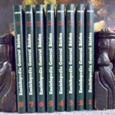 Enciclopedias de segunda mano: ENCICLOPEDIA GENERAL BÁSICA COMPLETA 8 TOMOS. ASURI. Lote 90804905