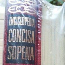 Enciclopedias de segunda mano: ENCICLOPEDIA CONCISA SOPENA. AÑOS 70-80. PRECINTADO. Lote 90963205