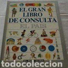 Enciclopedias de segunda mano: EL GRAN LIBRO DE CONSULTA EL PAIS. Lote 91062010