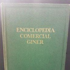 Enciclopedias de segunda mano: ENCICLOPEDIA COMERCIAL GINER 3 VOLUMENES COMPLETA. Lote 91915245