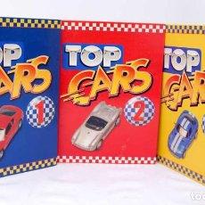 Enciclopedias de segunda mano: TOP CARS. 3 CARPETAS CON FICHAS. Lote 91917430