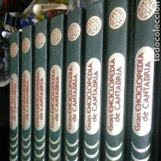 Enciclopedias de segunda mano: GRAN ENCICLOPEDIA DE CANTABRIA.8 TOMOS COMPLETA.1985. Lote 92048468
