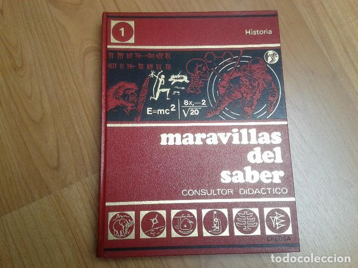 Enciclopedias de segunda mano: Enciclopedia completa ( 12 Tom ) Maravillas del saber - Consultor didáctico - Credsa Ediciones, 1976 - Foto 4 - 92126680