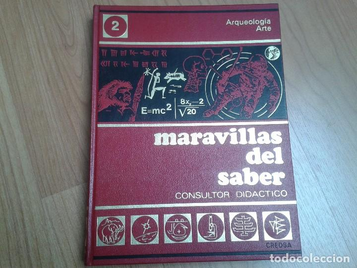 Enciclopedias de segunda mano: Enciclopedia completa ( 12 Tom ) Maravillas del saber - Consultor didáctico - Credsa Ediciones, 1976 - Foto 7 - 92126680