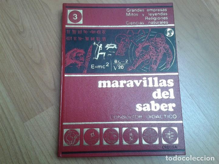 Enciclopedias de segunda mano: Enciclopedia completa ( 12 Tom ) Maravillas del saber - Consultor didáctico - Credsa Ediciones, 1976 - Foto 10 - 92126680