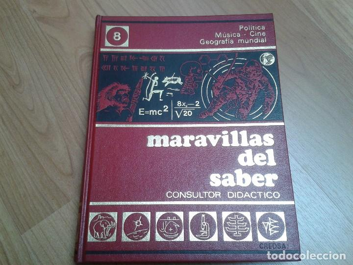 Enciclopedias de segunda mano: Enciclopedia completa ( 12 Tom ) Maravillas del saber - Consultor didáctico - Credsa Ediciones, 1976 - Foto 27 - 92126680