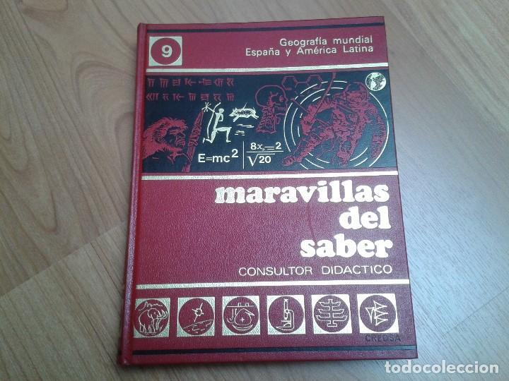 Enciclopedias de segunda mano: Enciclopedia completa ( 12 Tom ) Maravillas del saber - Consultor didáctico - Credsa Ediciones, 1976 - Foto 30 - 92126680