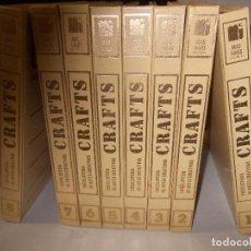 Enciclopedias de segunda mano: CRAFTS 8 TOMOS ENCICLOPEDIA DE ARTES CREATIVAS. MAS-IVARS EDITORES, S.L. 1.978. Lote 271628338