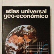 Enciclopedias de segunda mano: ATLAS UNIVERSAL GEO-ECONÓMICO - EDITORIAL TEIDE - INSTITUTO GEOGRÁFICO DE AGOSTINI - 1997 - NUEVO. Lote 93629735