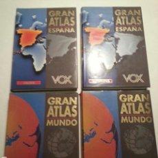 Enciclopedias de segunda mano: GRAN ATLAS VOX - 4 TOMOS -. Lote 93715502