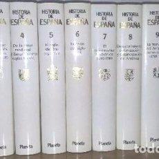 Enciclopedias de segunda mano: HISTORIA UNIVERSAL PLANETA - (12 TOMOS) – EDICION LUJO. Lote 93903065