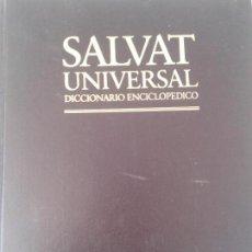 Enciclopedias de segunda mano: DICCIONARIO ENCICLOPEDICO SALVAT. Lote 94307162