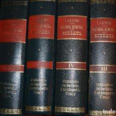 Enciclopedias de segunda mano: BIBLIOTECA DE LA GRAN ENCICLOPEDIA VASCA. 6 TOMOS. LABAYRU. HISTORIA GENERAL DE BIZCAYA. Lote 94313650