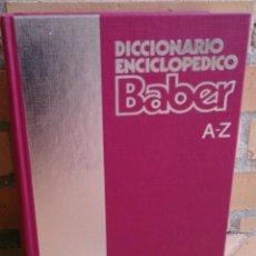 Enciclopedias de segunda mano: LIBRO TOMO DICCIONARIO ENCICLOPÉDICO BARBER 1991. Lote 94564755