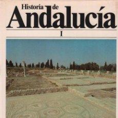 Enciclopedias de segunda mano: HISTORIA DE ANDALUCIA. 9 TOMOS. MUNDI/ENCICLOPEDIA. Lote 95624959