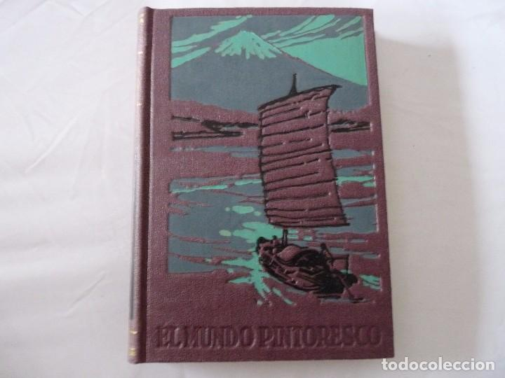 ENCICLOPEDIA EL MUNDO PINTORESCO NUEVE TOMOS 1960 BUENOS AIRES (Second Hand Books - Encyclopedias)