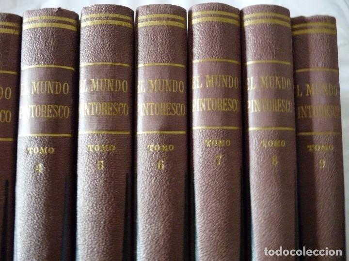 Second hand encyclopedias: ENCICLOPEDIA EL MUNDO PINTORESCO NUEVE TOMOS 1960 BUENOS AIRES - Foto 4 - 96602631
