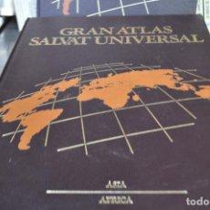 Enciclopedias de segunda mano: 4 TOMOS GRAN ATLAS SALVAT UNIVERSAL - AM1. Lote 96857799