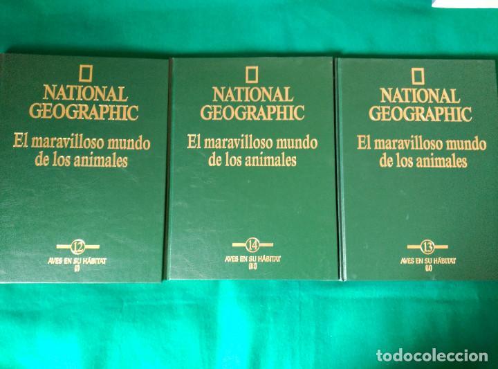 Enciclopedias de segunda mano: NATIONAL GEOGRAPHIC - EL MARAVILLOSO MUNDO DE LOS ANIMALES - 17 TOMOS - Foto 12 - 97104687