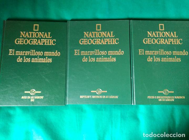 Enciclopedias de segunda mano: NATIONAL GEOGRAPHIC - EL MARAVILLOSO MUNDO DE LOS ANIMALES - 17 TOMOS - Foto 14 - 97104687
