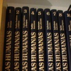 Enciclopedias de segunda mano: LAS RAZAS HUMANAS GALLACH-OCEANO,1995, 8 TOMOS. Lote 97134219