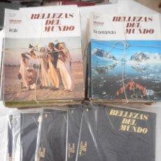 Enciclopedias de segunda mano: BELLEZAS DEL MUNDO. LAROUSSE SEMAY. 1974-1978. 128 FASCÍCULOS. 8 TOMOS + 1 GUÍA. PARA ENCUADERNAR. Lote 97151311