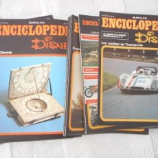 Enciclopedias de segunda mano: ENCICLOPEDIA DISNEY. BURU LAN EDICIONES S.A. 36 FASCÍCULOS, SIN TAPAS. Lote 97154035