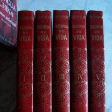 Enciclopedias de segunda mano: ENCICLOPEDIA DE LA VIDA. BRUGUERA, 1973. 5 TOMOS.. Lote 97154107