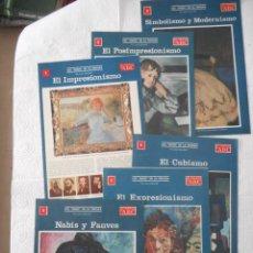 Enciclopedias de segunda mano: LOS 'ISMOS' EN LA PINTURA. COLECCIONABLES DE ABC. 6 FASCÍCULOS. BUEN ESTADO. Lote 97155419